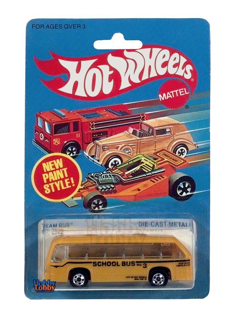 Hot Wheels - Coleção 1983 - GMC RTS II School Team Bus  - Hobby Lobby CollectorStore