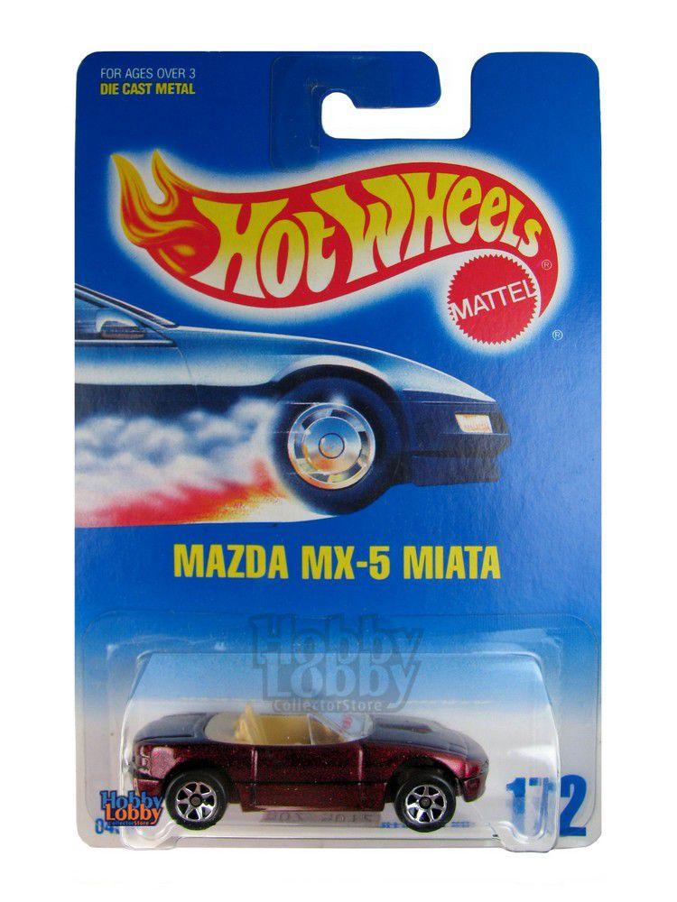 Hot Wheels - Coleção 1991 - Mazda MX-5 Miata