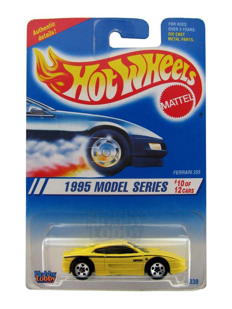 Hot Wheels - Coleção 1995 - Ferrari 355
