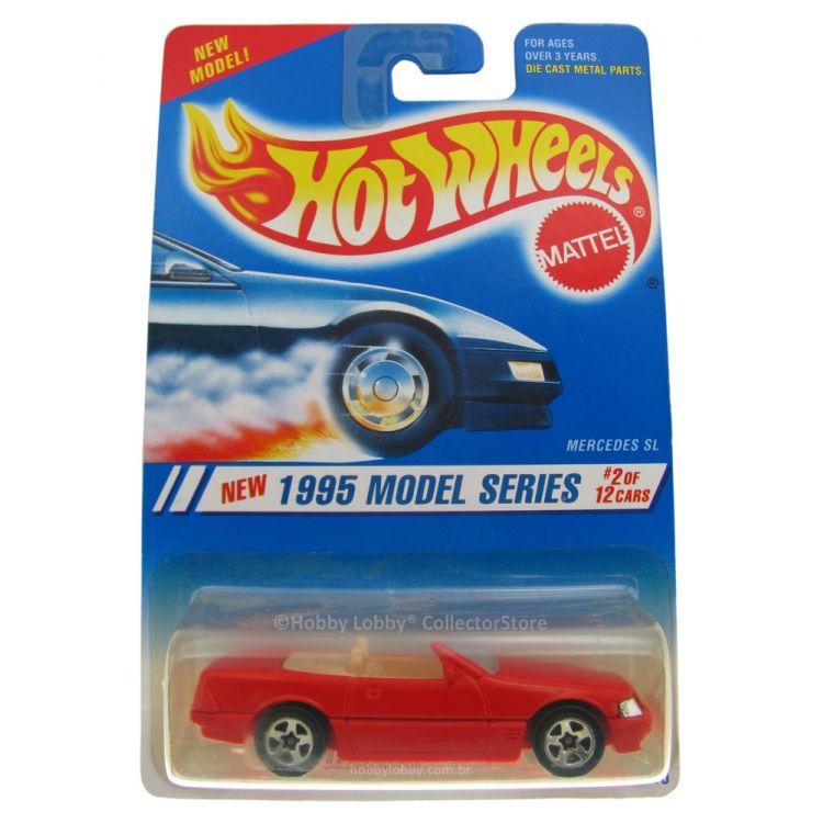 Hot Wheels - Coleção 1995 - Mercedes SL  - Hobby Lobby CollectorStore