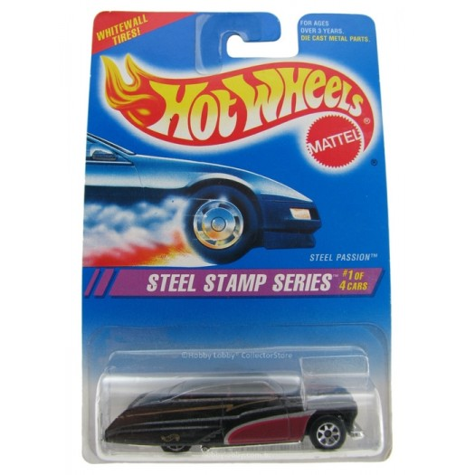 Hot Wheels - Coleção 1995 - Steel Passion  - Hobby Lobby CollectorStore
