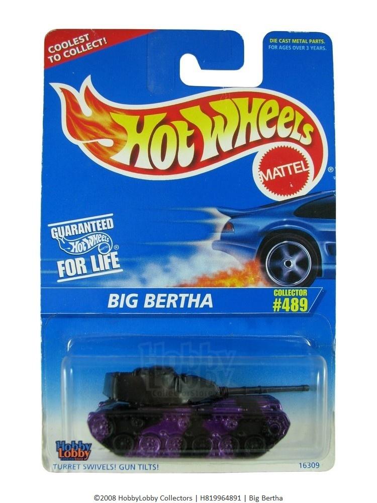 Hot Wheels - Coleção 1996 - Big Bertha  - Hobby Lobby CollectorStore
