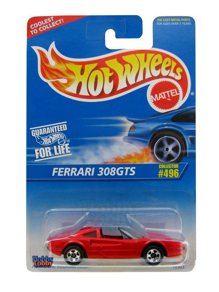 Hot Wheels - Coleção 1996 - Ferrari 308GTS  - Hobby Lobby CollectorStore
