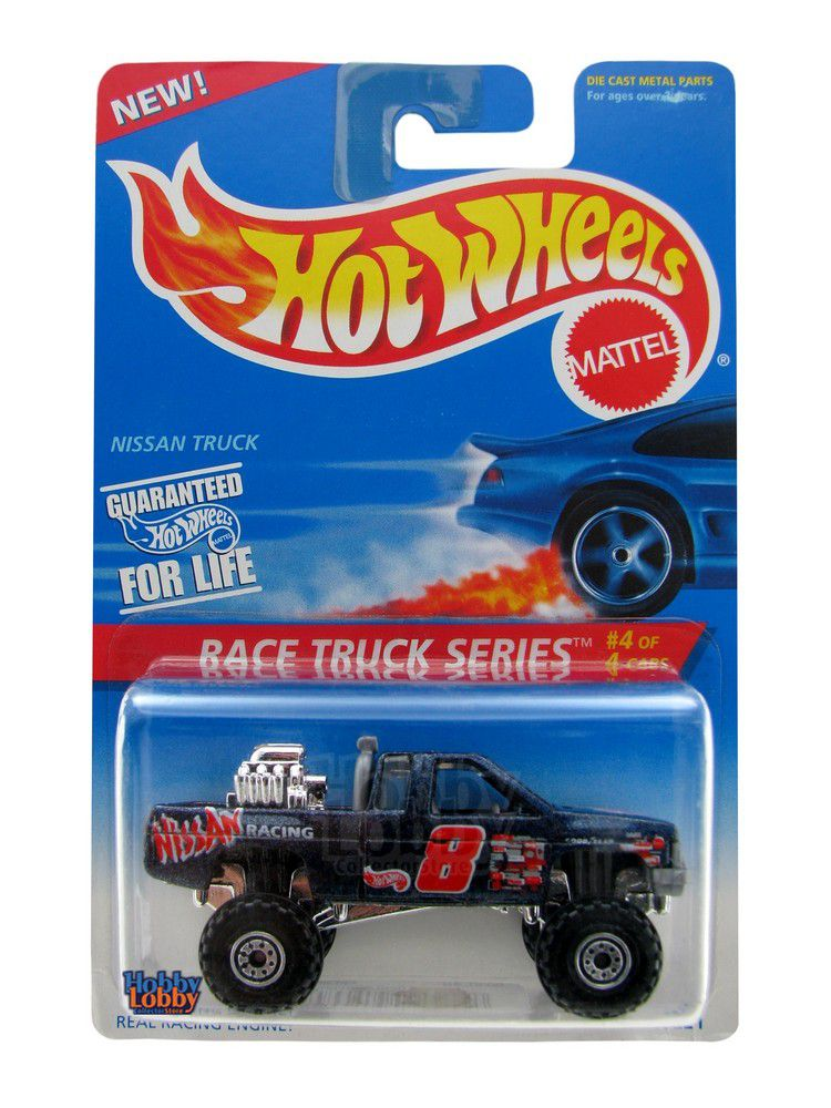 Hot Wheels - Coleção 1996 - Nissan Truck