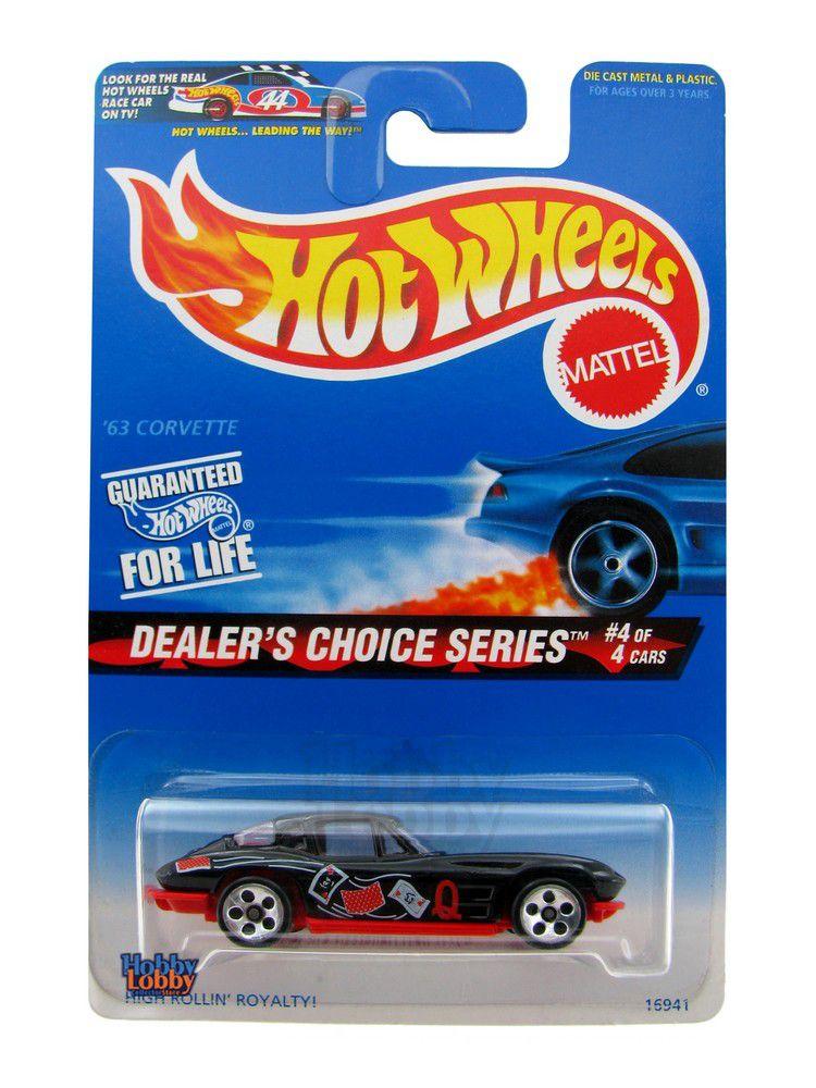 Hot Wheels - Coleção 1997 - ´63 Corvette