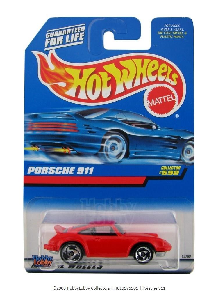 Hot Wheels - Coleção 1997 -  Porsche 911  - Hobby Lobby CollectorStore