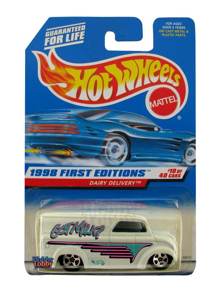 Hot Wheels - Coleção 1998 - Dairy Delivery  - Hobby Lobby CollectorStore