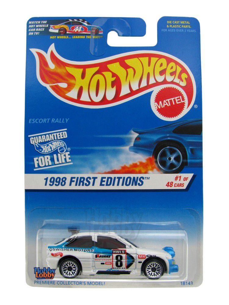 Hot Wheels - Coleção 1998 - Escort Rally