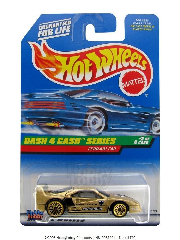 Hot Wheels - Coleção 1998 - Ferrari F40  - Hobby Lobby CollectorStore