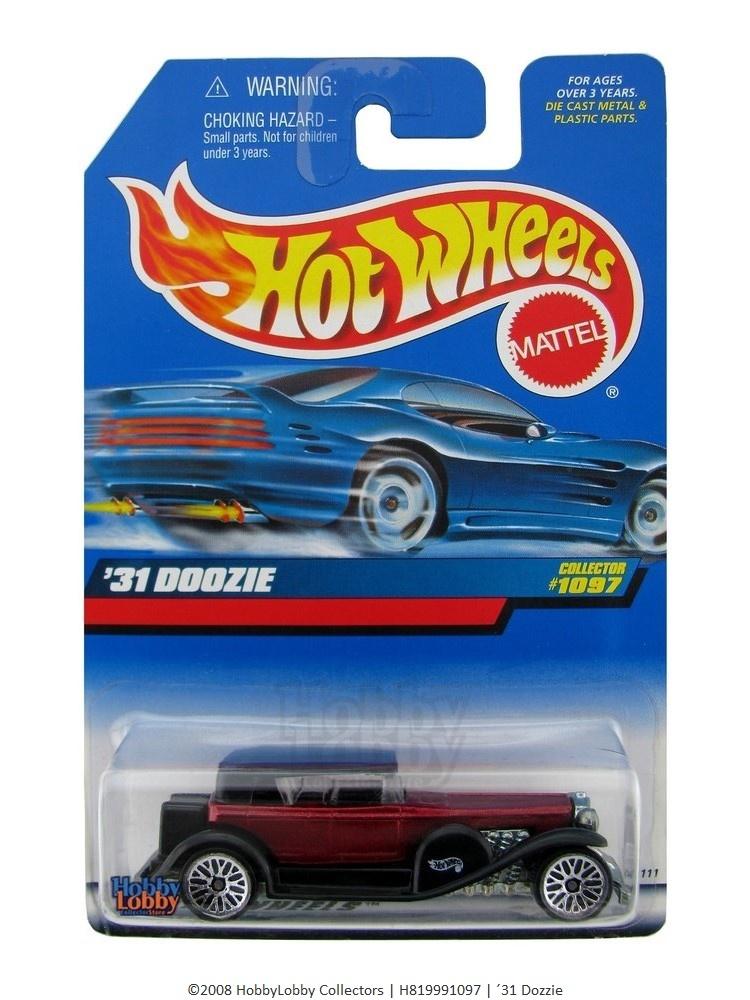 Hot Wheels - Coleção 1999 - ´31 Doozie  - Hobby Lobby CollectorStore