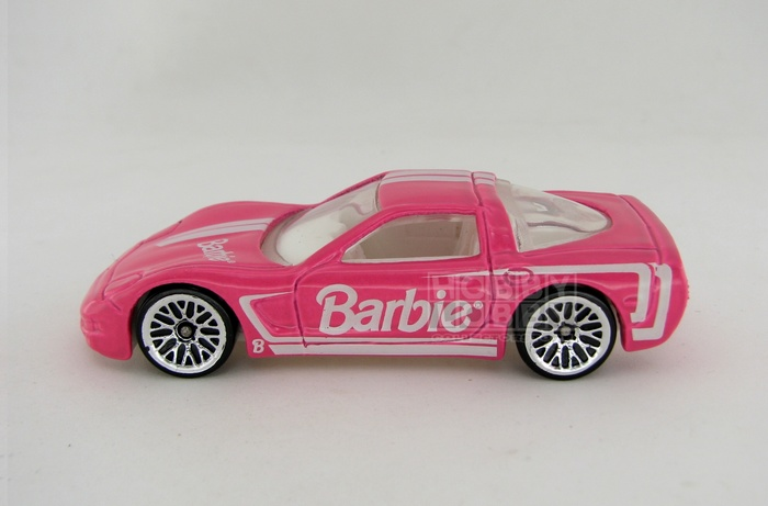Hot Wheels - Coleção 1999 - Corvette 1997 - Barbie (loose)  - Hobby Lobby CollectorStore