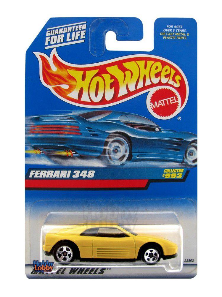 Hot Wheels - Coleção 1999 - Ferrari 348