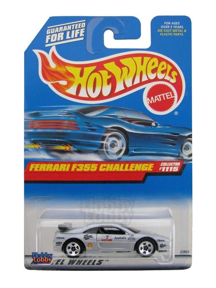 Hot Wheels - Coleção 1999 - Ferrari 355 Challenge