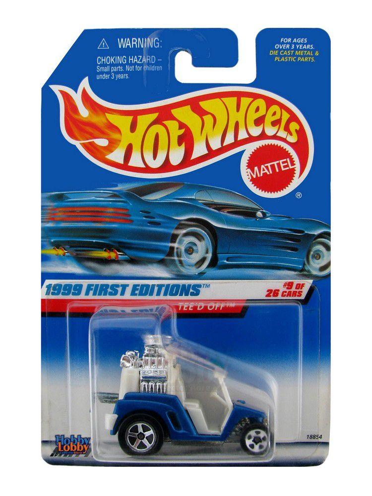 Hot Wheels - Coleção 1999 - Tee´d Off