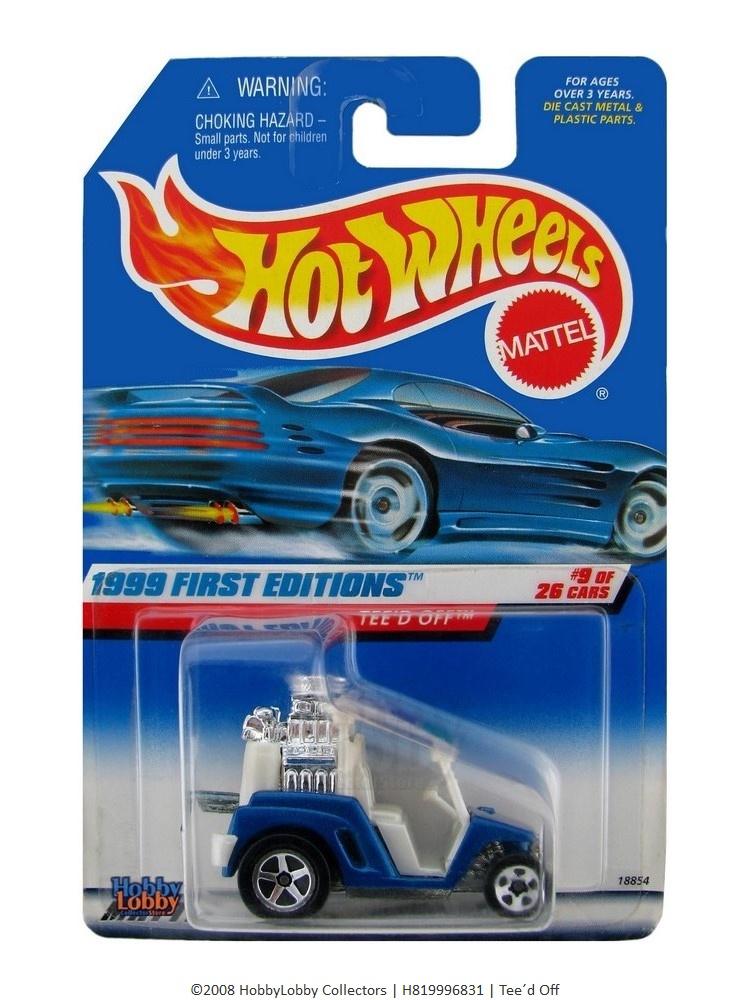 Hot Wheels - Coleção 1999 - Tee´d Off  - Hobby Lobby CollectorStore
