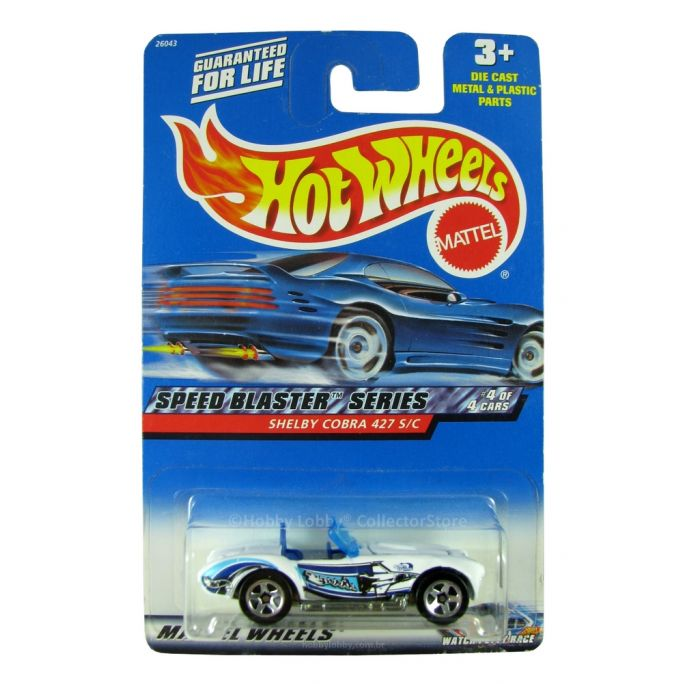 Hot Wheels - Coleção 2000 - Shelby Cobra 427 S/C  - Hobby Lobby CollectorStore