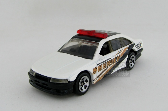Hot Wheels - Coleção 2001 - Police Cruiser Car (loose)