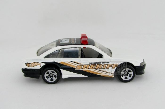 Hot Wheels - Coleção 2001 - Police Cruiser Car (loose)  - Hobby Lobby CollectorStore