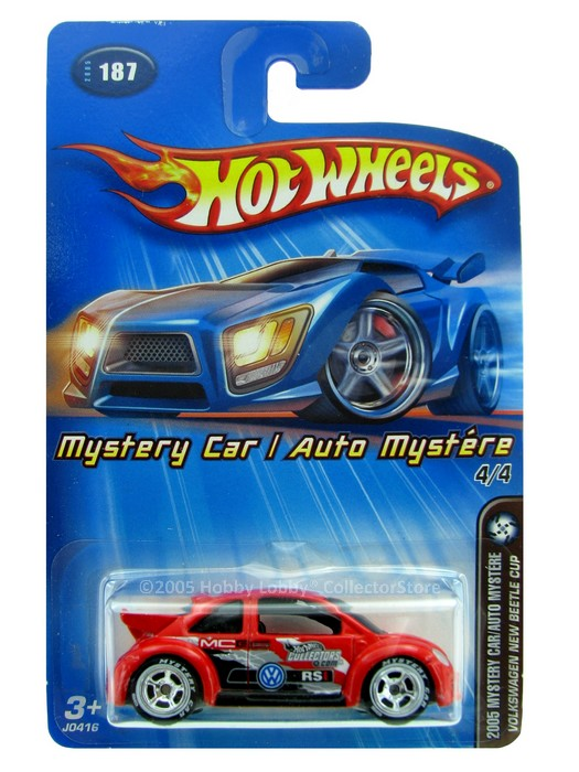 Hot Wheels - Coleção 2005 - Volkswagen New Beetle Cup  - Hobby Lobby CollectorStore