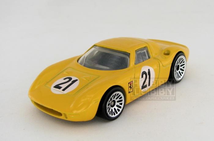 Hot Wheels - Coleção 2007 - Ferrari 250 GT LM (loose)