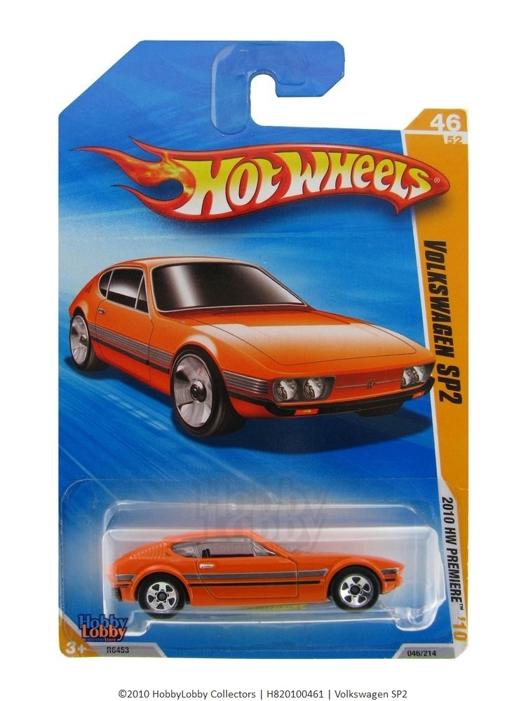 Hot Wheels - Coleção 2010 - Volkswagen SP2  - Hobby Lobby CollectorStore