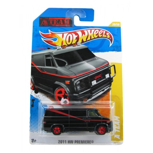 Hot Wheels - Coleção 2011 - A Team Van