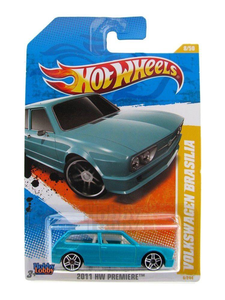 Hot Wheels - Coleção 2011 - Volkswagen Brasilia [azul]