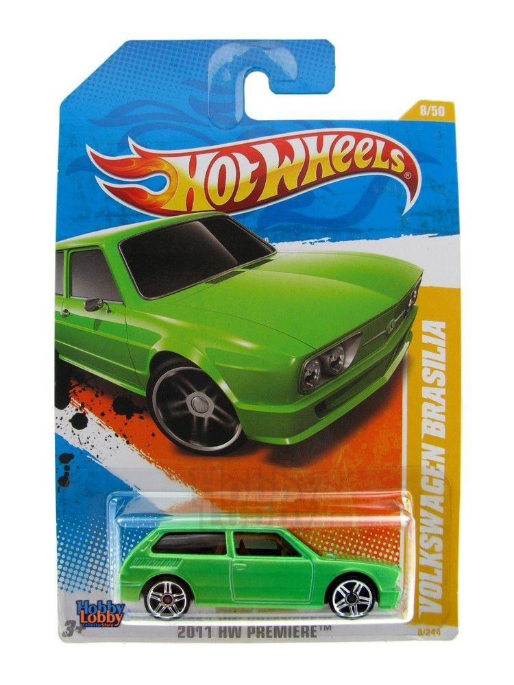 Hot Wheels - Coleção 2011 - Volkswagen Brasilia [verde]
