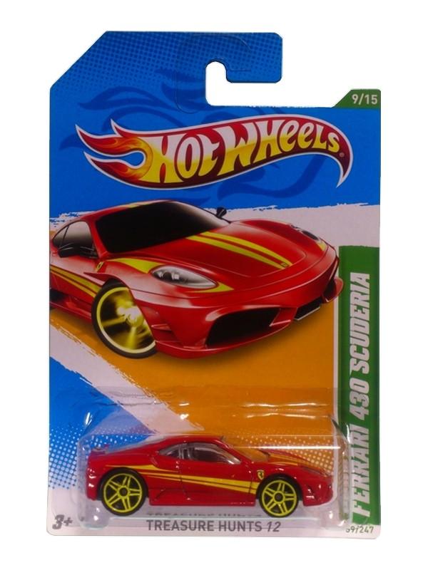 Hot Wheels - Coleção 2012 - Ferrari 430 Scuderia