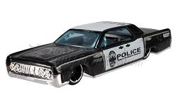 Hot Wheels - Coleção 2012 - ´64 Lincoln Continental - Police  - Hobby Lobby CollectorStore