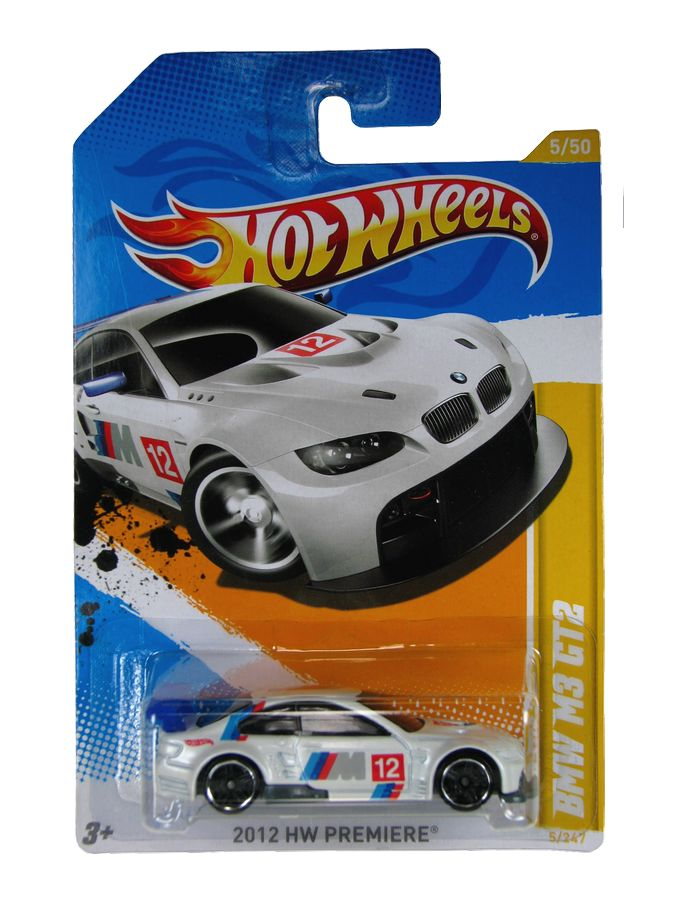 Hot Wheels - Coleção 2012 - BMW M3 GT2