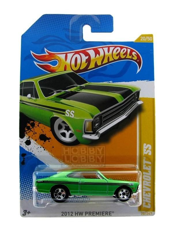 Hot Wheels - Coleção 2012 - Chevrolet SS (Opala)