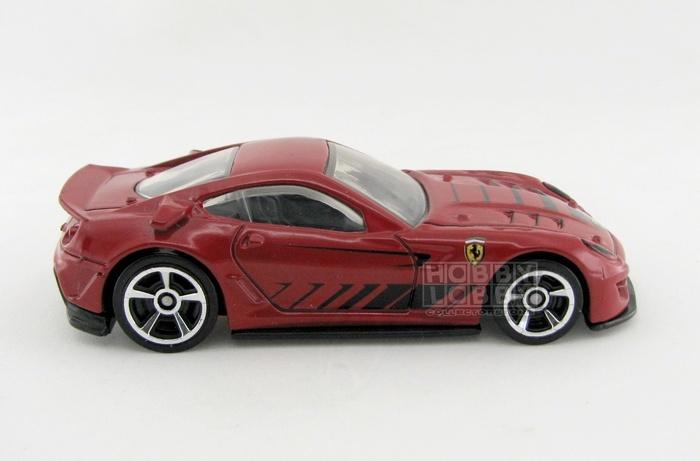 Hot Wheels - Coleção 2012 - Ferrari 599XX (loose)  - Hobby Lobby CollectorStore