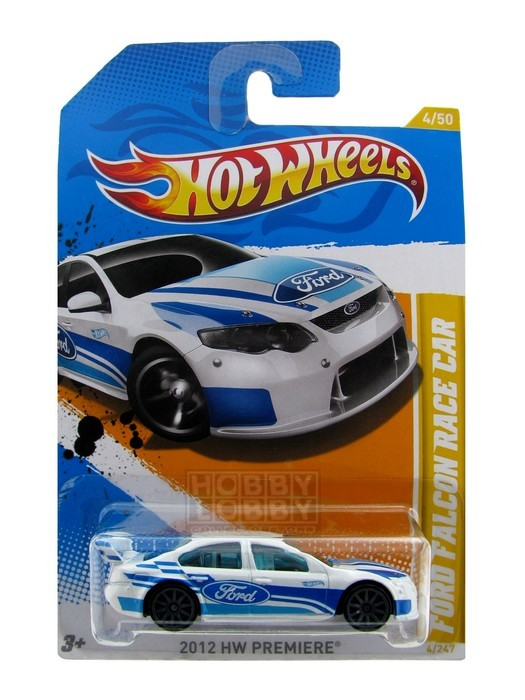 Hot Wheels - Coleção 2012 - Ford Falcon Race Car