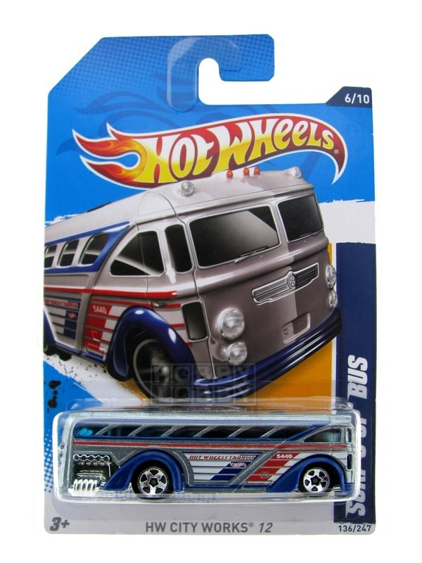 Hot Wheels - Coleção 2012 - Surfin´ School Bus
