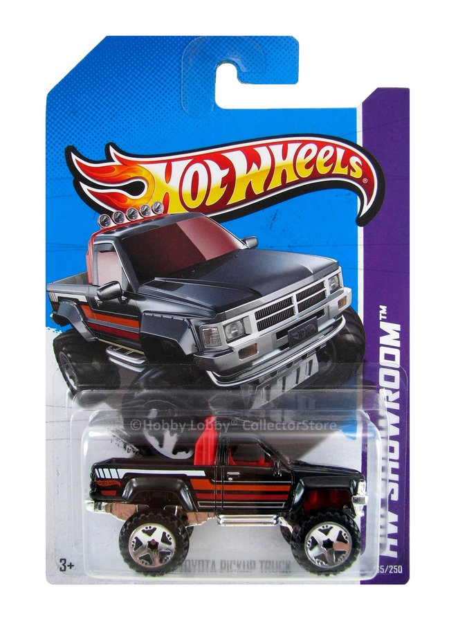 Hot Wheels - Coleção 2013 - `87 Toyota Pickup Truck  - Hobby Lobby CollectorStore