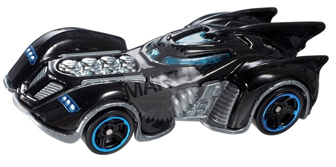 Hot Wheels - Coleção 2013 - Batman Arkham Asylum Batmobile  - Hobby Lobby CollectorStore