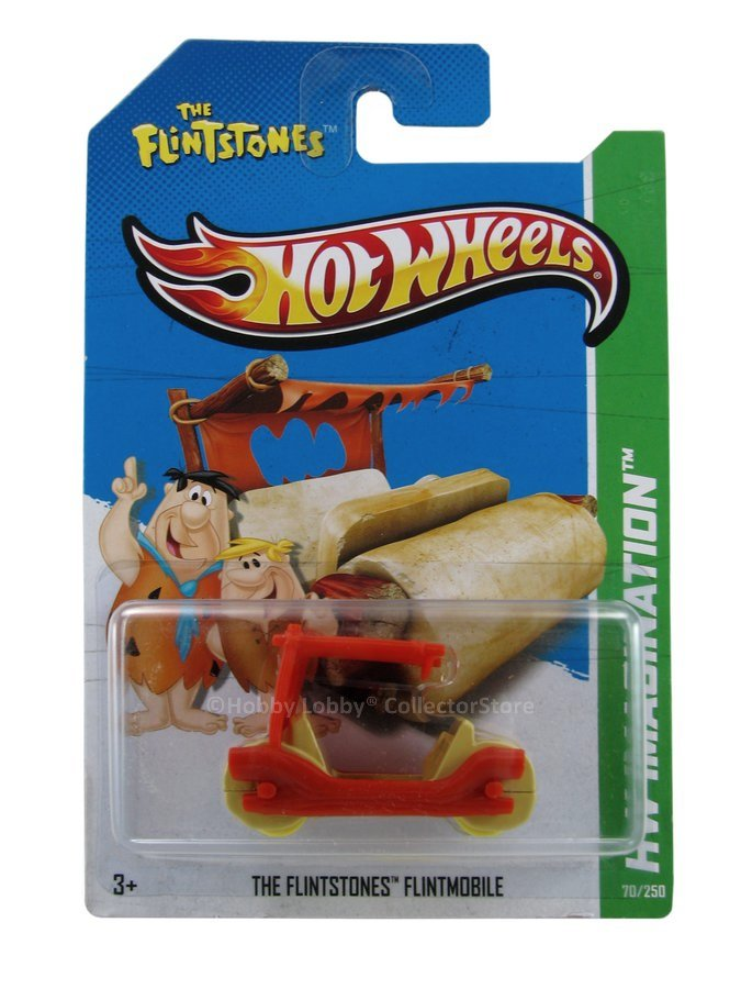 Hot Wheels - Coleção 2013 - Flintmobile - The Flintstones