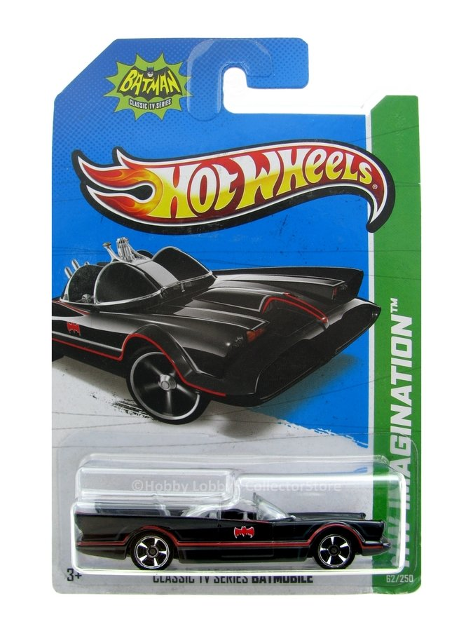 Hot Wheels - Coleção 2013 - TV Series Batmobile  - Hobby Lobby CollectorStore
