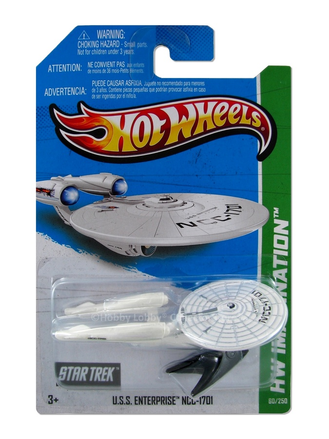 Hot Wheels - Coleção 2013 - U.S.S. Enterprise NCC-1701  - Hobby Lobby CollectorStore