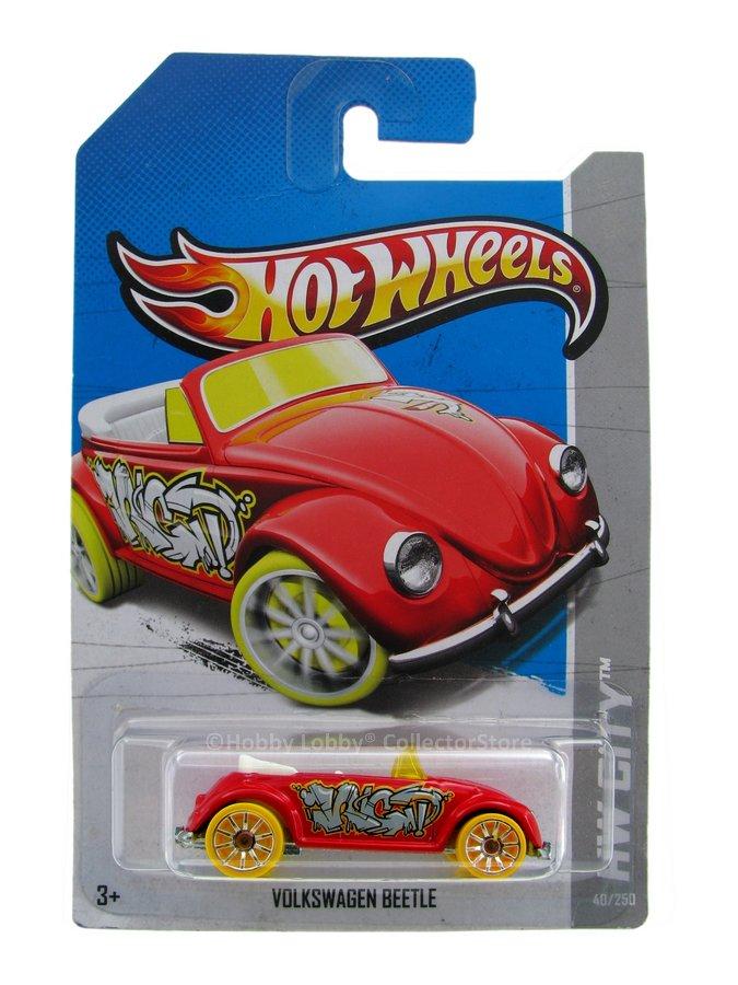 Hot Wheels - Coleção 2013 - Volkswagen Beetle (vermelho)