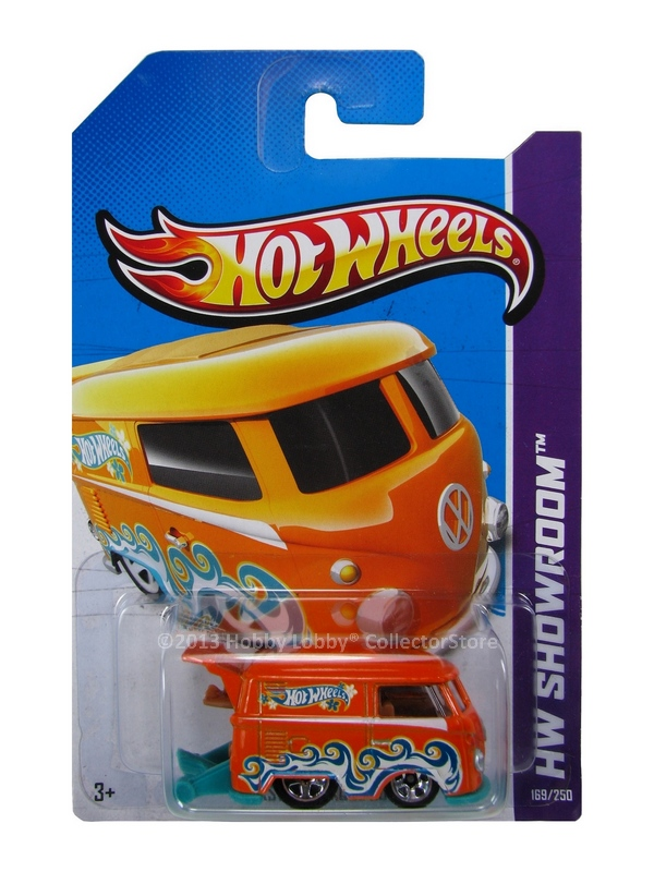 Hot Wheels - Coleção 2013 - Volkswagen Kool Kombi [Laranja]  - Hobby Lobby CollectorStore