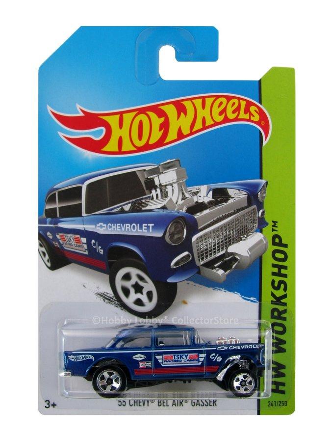 Hot Wheels - Coleção 2014 - ´55 Chevy Bel Air Grasser [N]