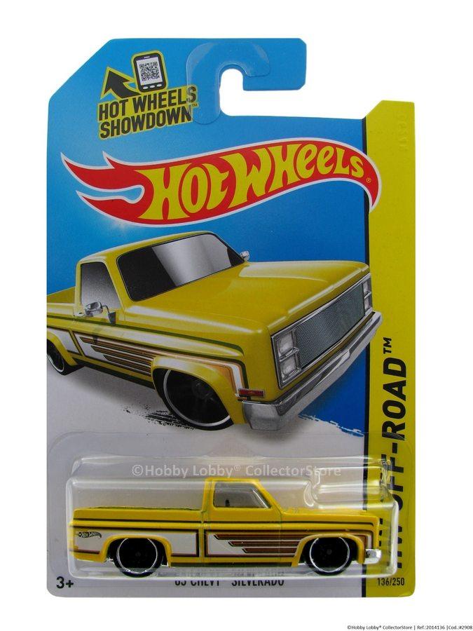 Hot Wheels - Coleção 2014 - '83 Chevy Silverado