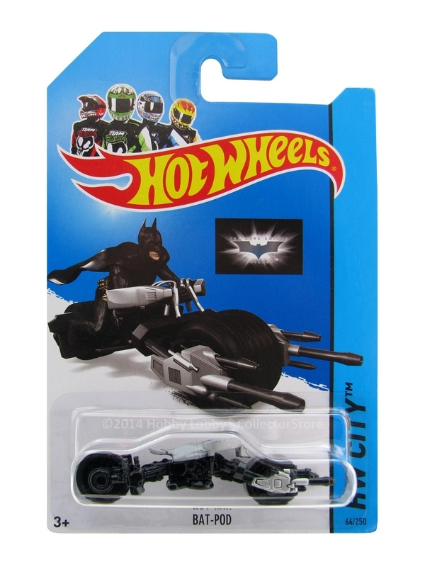 Hot Wheels - Coleção 2014  - Batman - Bat Pod  - Hobby Lobby CollectorStore