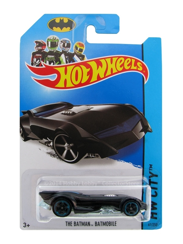 Hot Wheels - Coleção 2014  - Batman - The Batman Batmobile  - Hobby Lobby CollectorStore