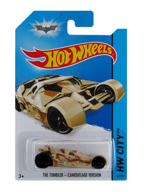 Hot Wheels - Coleção 2014  -  Batman - The Tumbler - Camouflage Version