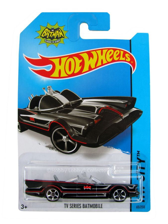 Hot Wheels - Coleção 2014  - Batman - TV Series Batmobile