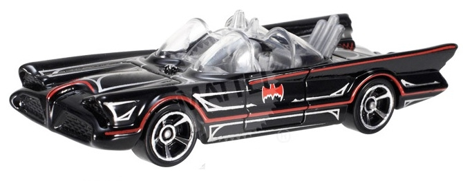 Hot Wheels - Coleção 2014  - Batman - TV Series Batmobile  - Hobby Lobby CollectorStore