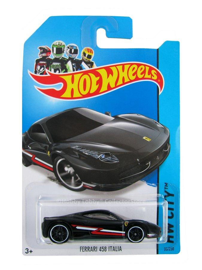Hot Wheels - Coleção 2014 - Ferrari 458 Italia
